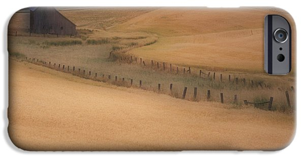 July iPhone Cases - Eid Road Barn iPhone Case by Latah Trail Foundation