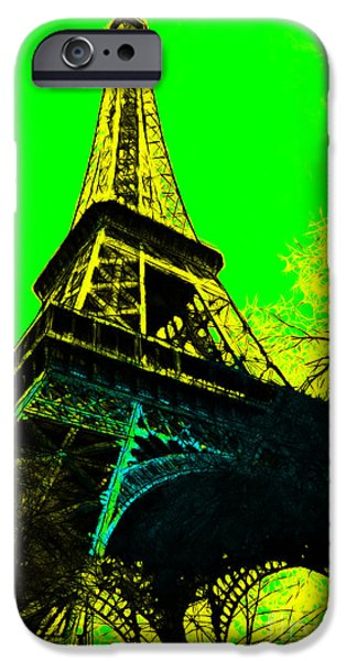 Eiffel 20130115v2 iPhone Case by Wingsdomain Art and Photography