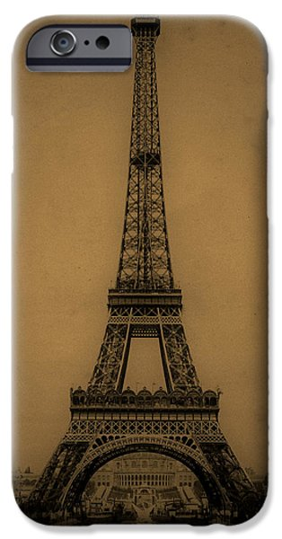 Eiffel Tower 1889 iPhone Case by Andrew Fare