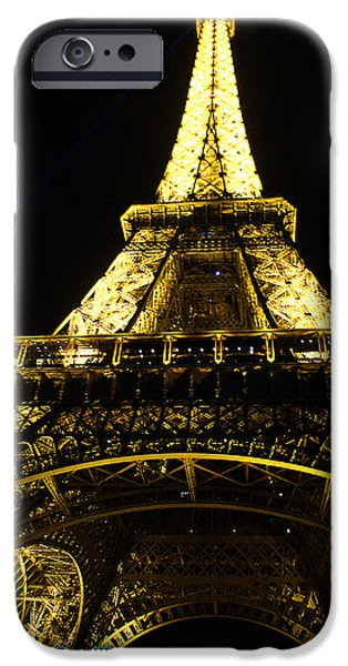 African-american Institute iPhone Cases - Eiffel Tower 8 iPhone Case by Everett Spruill