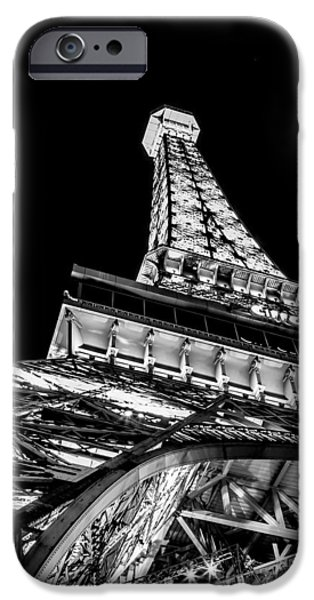 Paris iPhone Cases - Industrial Romance iPhone Case by Az Jackson