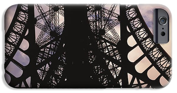Stability iPhone Cases - Eiffel Tower Paris France iPhone Case by Panoramic Images