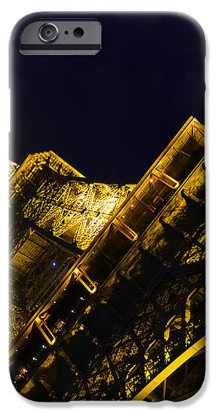 Eiffel Tower Paris France Side iPhone Case by Patricia Awapara