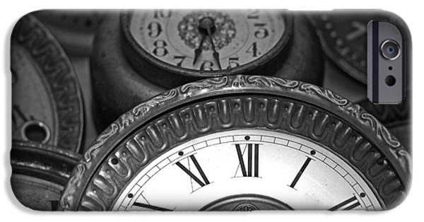Component iPhone Cases - Eight Faces of Time iPhone Case by Tom Gari Gallery-Three-Photography