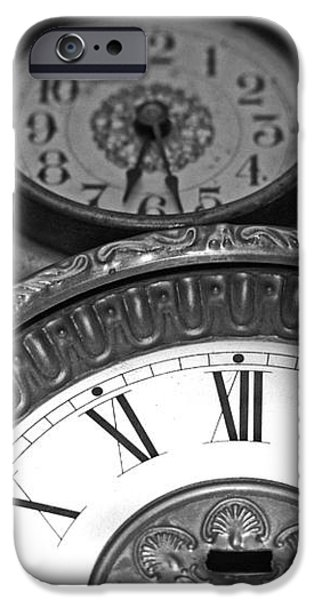 Eight Faces of Time iPhone Case by Tom Gari Gallery-Three-Photography