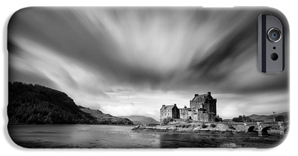 Dave iPhone Cases - Eilean Donan Castle 1 iPhone Case by Dave Bowman
