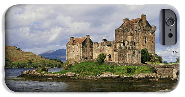 Connection iPhone Cases - Eilean Donan Castle, Dornie iPhone Case by Panoramic Images