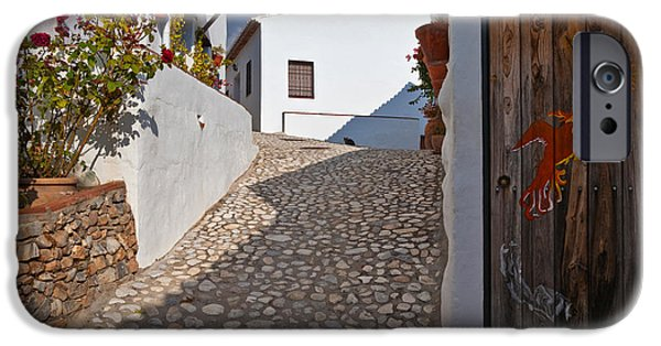 Malaga iPhone Cases - El Acebuchal, The Lost Village Or Ghost iPhone Case by Panoramic Images