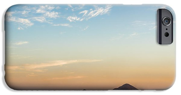 Baja iPhone Cases - El Arco de Cabo Sunset iPhone Case by James Wheeler