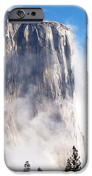 Bill Gallagher iPhone Cases - El Capitan iPhone Case by Bill Gallagher