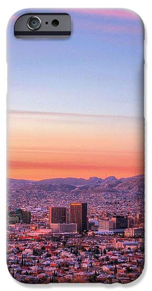 El Paso iPhone Case by JC Findley
