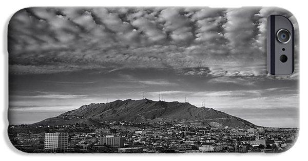Franklin iPhone Cases - El Paso iPhone Case by Mountain Dreams