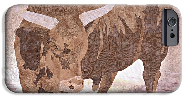 Universities Tapestries - Textiles iPhone Cases - El Toro iPhone Case by Pauline Barrett