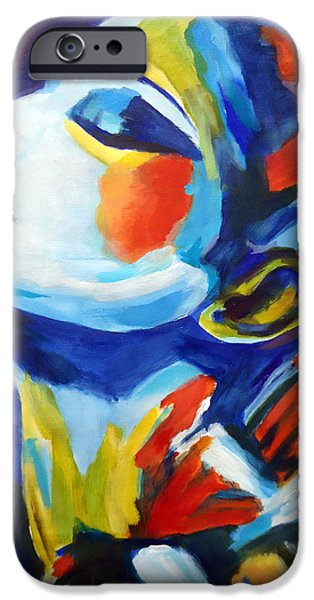 Elation iPhone Case by Helena Wierzbicki