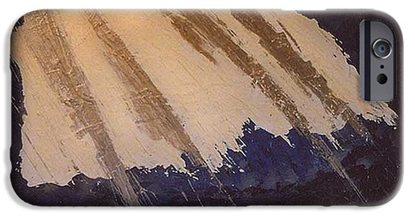 Electrical Paintings iPhone Cases - Electric Front iPhone Case by Lanny  Ross