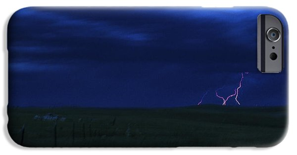 Storm iPhone Cases - Electric Love iPhone Case by Joshua Dwyer