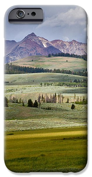 Electric Peak iPhone Case by Bill Gallagher
