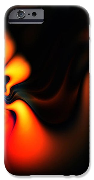 Electric Wave iPhone Case by Ian Mitchell