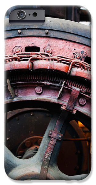 Electrical Equipment Photographs iPhone Cases - Electrical Power Room At Puits Couriot iPhone Case by Panoramic Images