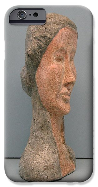 Person Sculptures iPhone Cases - Elegant iPhone Case by Nili Tochner