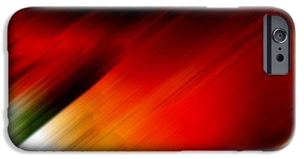 Celebrities Art iPhone Cases - Element Warmth iPhone Case by Sir Josef  Putsche