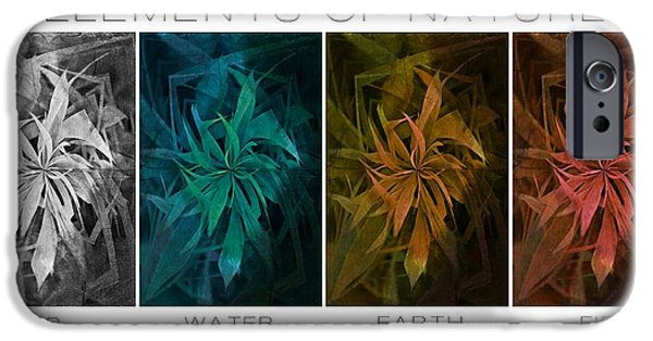 Weed Line iPhone Cases - Elements Of Nature iPhone Case by Marianna Mills