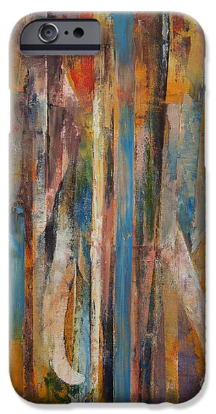 Hindu iPhone Cases - Elephant iPhone Case by Michael Creese