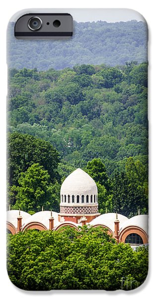 Elephant House at Cincinnati Zoo and Botanical Garden iPhone Case by Paul Velgos