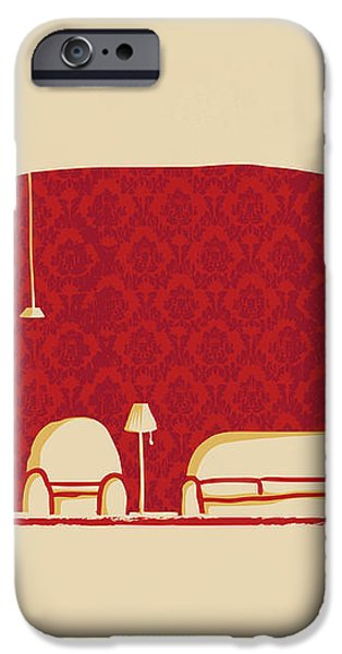 Elephanticus Roomious iPhone Case by Budi Kwan