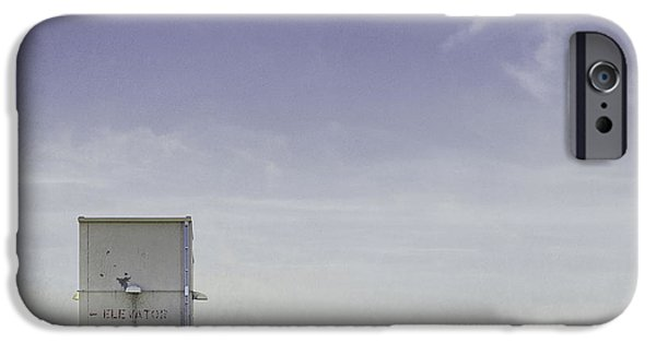 Roof iPhone Cases - Elevator iPhone Case by Scott Norris