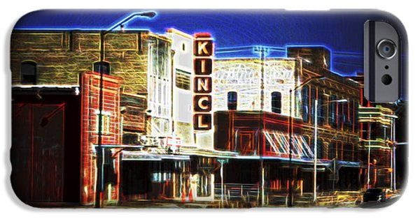 Recently Sold -  - Business Digital iPhone Cases - Elgin Old Town Street iPhone Case by Linda Phelps
