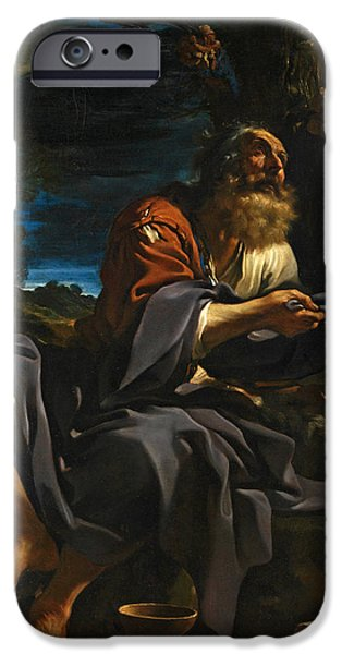 Fed iPhone Cases - Elijah fed by Ravens iPhone Case by Guercino