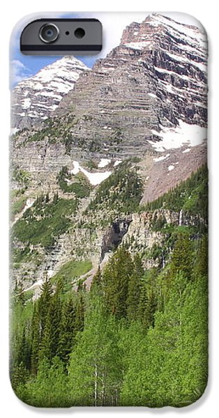 Elk Mountains iPhone Case by Eric Glaser