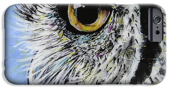 Snowy Night iPhone Cases - Ellie iPhone Case by Lovejoy Creations