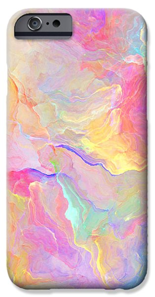 Eloquence - Abstract Art iPhone Case by Jaison Cianelli