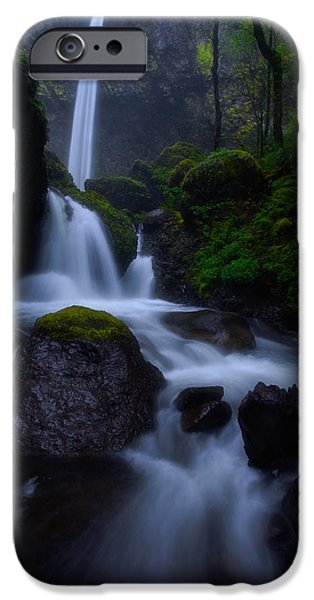 Fall Colors Photographs iPhone Cases - Elowahs Mist iPhone Case by Darren  White