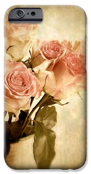 Botanical Digital Art iPhone Cases - Elusive iPhone Case by Jessica Jenney