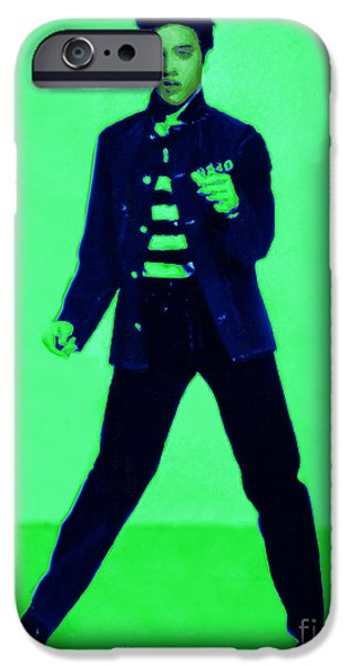Elvis is In The House 20130215p91 iPhone Case by Wingsdomain Art and Photography