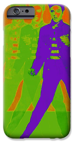 Elvis Jail House Rock 20130215m28 iPhone Case by Wingsdomain Art and Photography