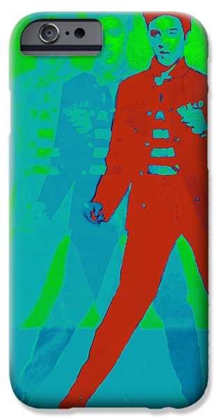 Elvis Jail House Rock 20130215p68 iPhone Case by Wingsdomain Art and Photography