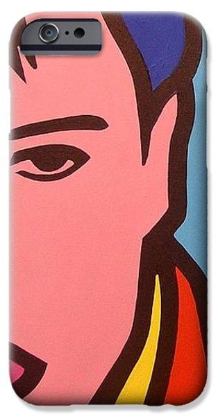 Elvis Presley Paintings iPhone Cases - Elvis Presley iPhone Case by John  Nolan