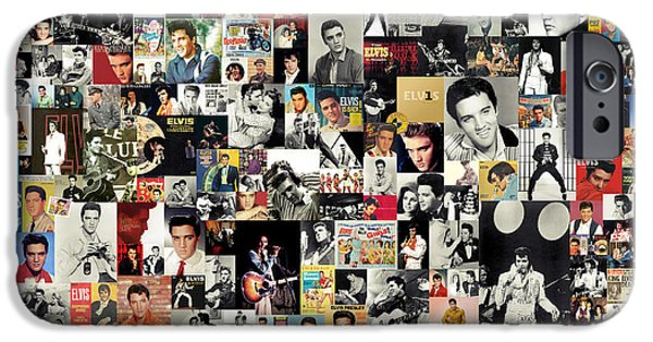 Legend iPhone Cases - Elvis The King iPhone Case by Taylan Soyturk