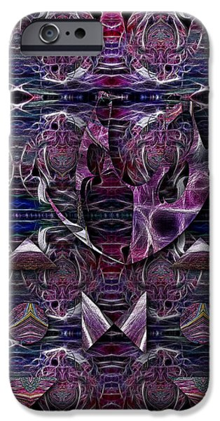 Abstract Expressionism iPhone Cases - Emancipation iPhone Case by Mike Butler