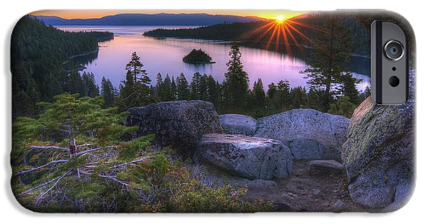Solitude Photographs iPhone Cases - Emerald Bay iPhone Case by Sean Foster