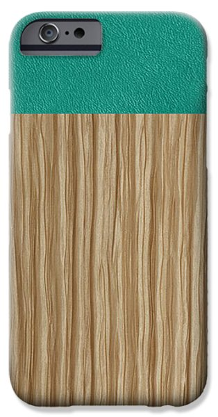 Emerald Cashmere iPhone Case by Margaret Ivory