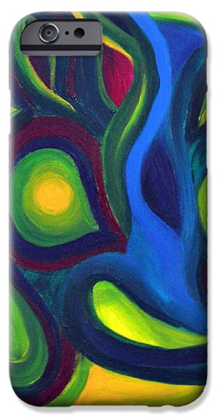 Emerald Dreams iPhone Case by Daina White