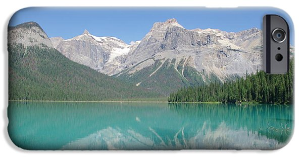 Emerald Green iPhone Cases - Emerald Lake iPhone Case by Nomad Art And  Design
