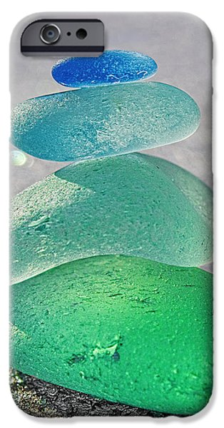 Emerald Light iPhone Case by Barbara McMahon