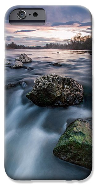 Emerald Green iPhone Cases - Emerald rock iPhone Case by Davorin Mance