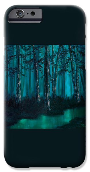 emerald stream iPhone Case by Tracy Tauber